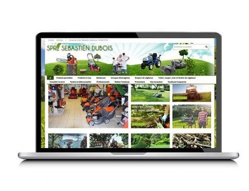 Création site catalogue